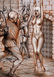 I'm gonna fuck you deep and hard - Sex captives of terror prison by Tim Richards